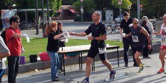 Getränke-Service beim Halbmarathon